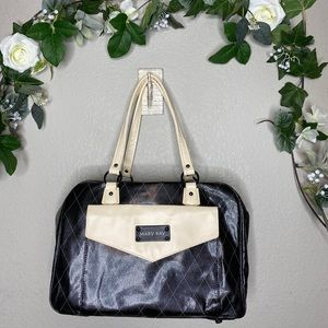Mary Kay Black Faux Leather Tote